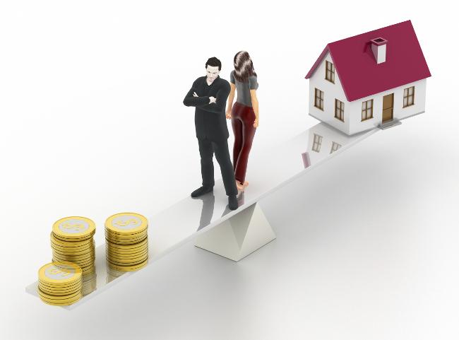 делиться ли ипотека при разводе даже этом